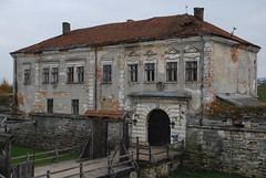 das Schloss in Solotschiw (Deutscher Friedensstifter) Tags: ukraine galicia architektur schloss ukraina festung d60     galicja galizien  nikond60 zolochiv       solotschiw  zoczw oblastlwiw  zameksobieskichwzoczowie zameksobieskich
