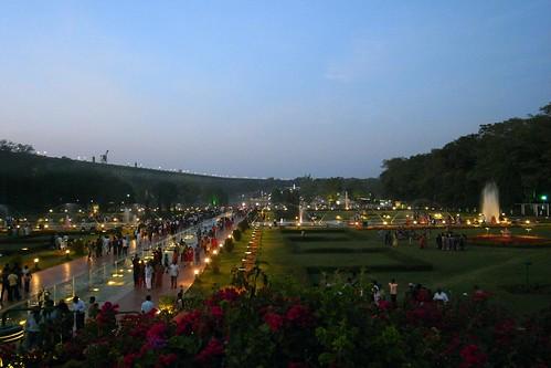 Brindavan Gardens at Night