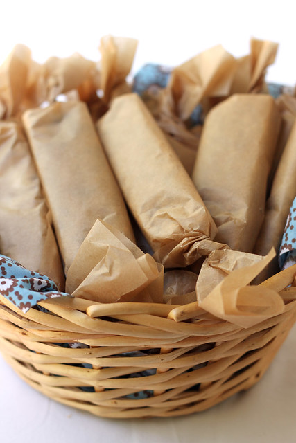 Chewy Granola Bars - Wrapped