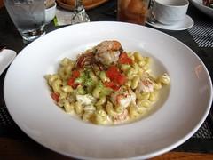 park 75 - shrimp & lump crab mac and cheese