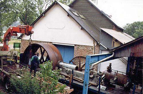 Livraison de la machine à vapeur Dujardin