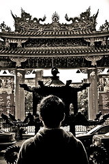 Belief (J.Cheng) Tags: life people phoenix sepia fire hope dragon culture flame ash wish eternal confuciustemple longlife