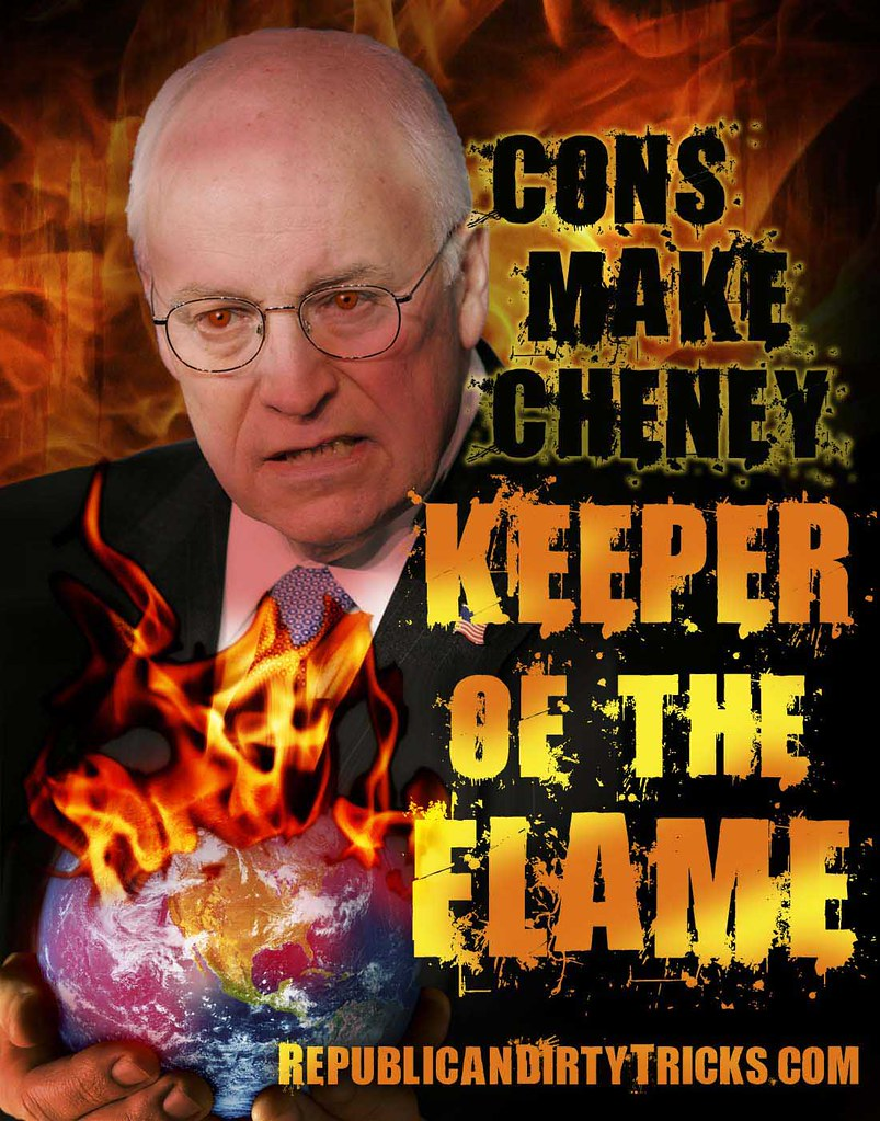 Obama not killing people fast enough for Cheney