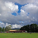 clouds over the derby at Laurie Sullivan Reserve