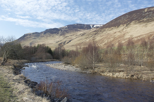 River near the Spittal of Glenshee