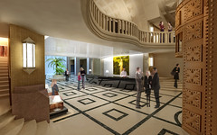 Lobby View (ZaraHotels) Tags: art four star hotel superior continental lobby zara noveu