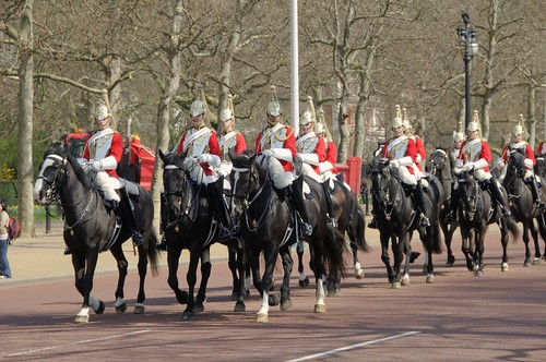 Guard Parade on the Mall