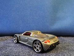 Porsche Carrera GT rear (JoaoJorgetto) Tags: miniature porsche hotwheels carro gt miniatura carrera supersport diecast superesportivo