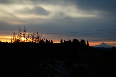 Sunrise over the Tualatin Mountains