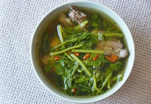 Watercress Soup 西洋菜汤 ~ Teczcape-An Escape to Food