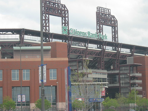 Citizens Bank Park facade