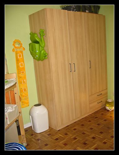 Cambiador y armario