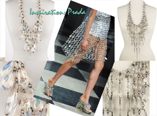 Prada+Chandelier+Necklace+DIY+Chandelier Shoes