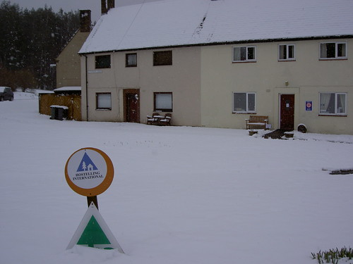 Forest View (Byrness YHA) in the Snow