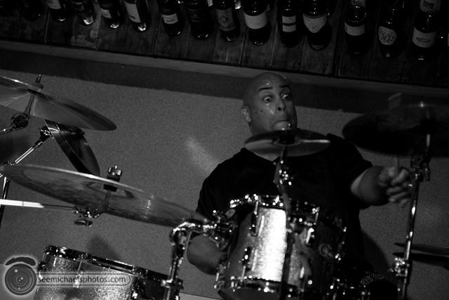Paul Seaforth's Mo Sax at Dizzy's 41710 © Michael Klayman-017