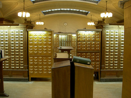 Card Catalog at Yale