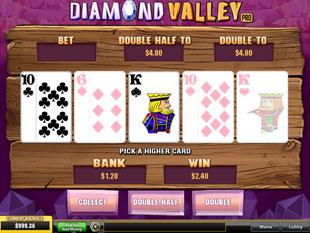 free Diamond Valley Pro gamble feature