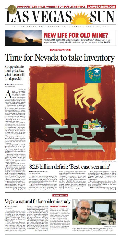 Las Vegas Sun: Nevada Budget Cuts