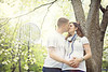 (Heidi Hope) Tags: park portrait texture vintage spring woods kiss couple outdoor pregnancy naturallight pregnant belly maternity florabella maternityphotographer heidihope