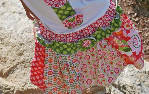 Tilt-a-twirl skirt