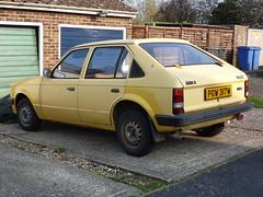 1981 Vauxhall Astra E Mk1 1200 saloon (Spottedlaurel) Tags: astra vauxhall
