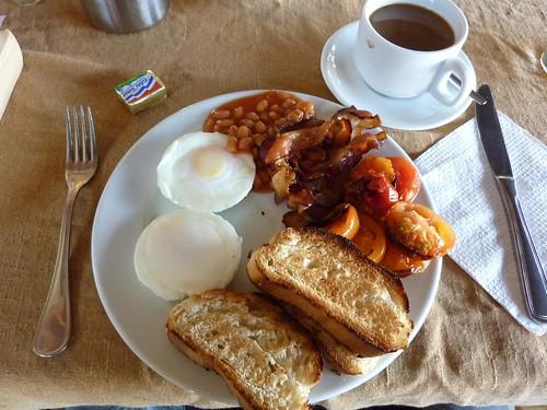 English Breakfast in The Gambia