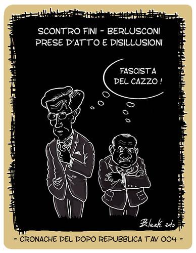 Fini - Berlusconi