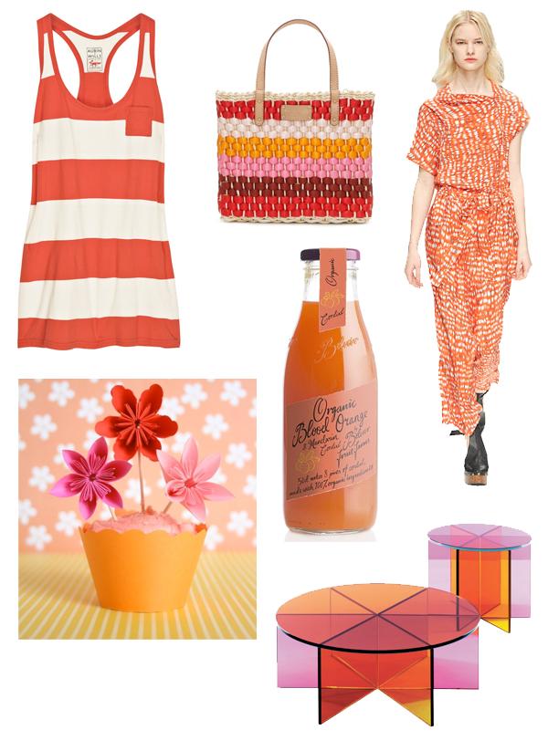 orange+pink