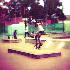 Grind (Xiangk) Tags: park girl punk sydney skate skateboard teenager grind skatergirl teenaged