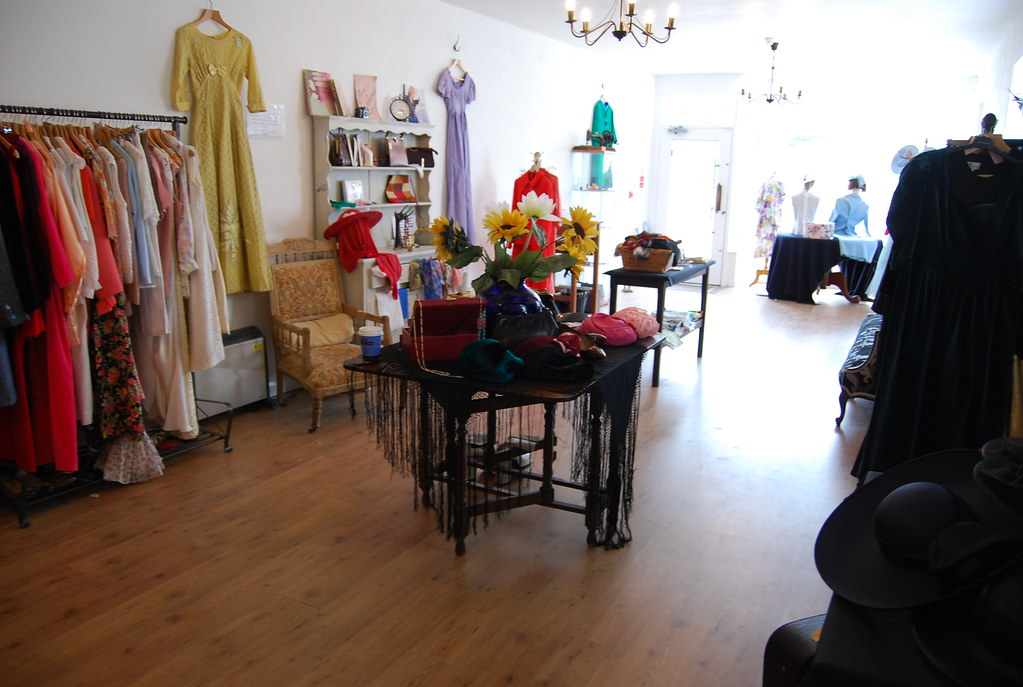 Vintage Vision shop floor