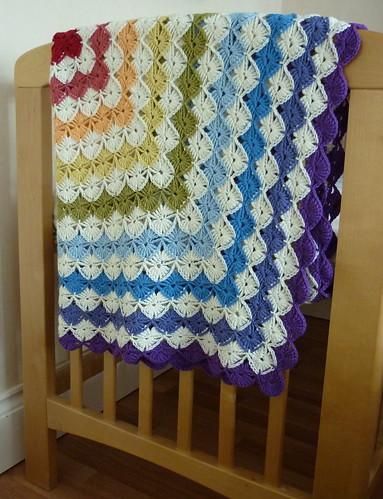 Rainbow Wooleater Blanket