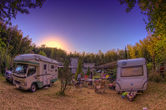 Chiba Camping (/\ltus) Tags: camping japan pentax chiba handheld trailer rv hdr k7 5xp japanhdr