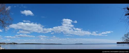Lake Simcoe from Mara Provincial Park