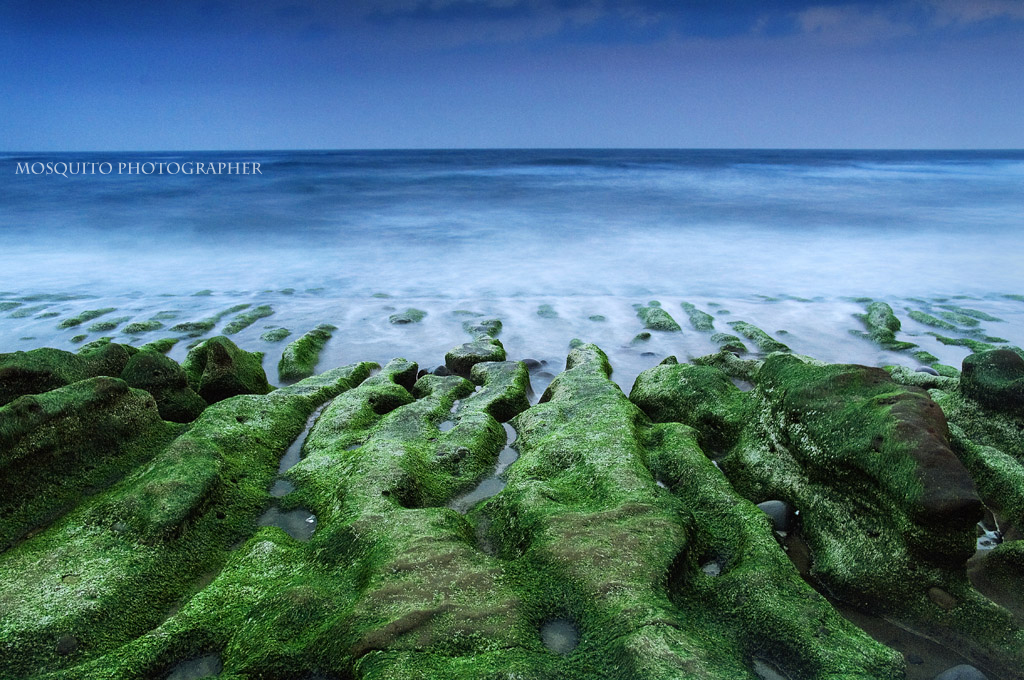 富貴角-海平面
