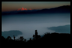 sunrise from ranipauwa (doug k of sky) Tags: nepal doug central ganesh himalaya himal langtang helambu ranipauwa mountainscapes kofsky artcat18871