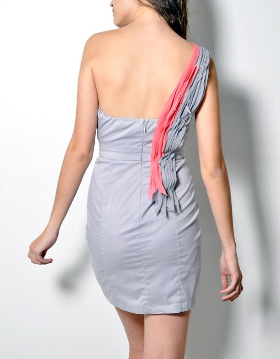 Fabric scrap swirl dress 3
