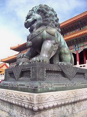 The Forbidden City (Stacy Sherman) Tags: china temple beijing palace stonelion theforbiddencity foolion guardianlion fulion lionofbuddha chineseguardianlions