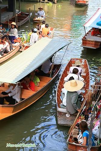 Dammnoen Saduak Floating Market-8