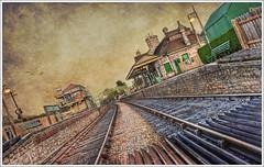 145/365 - HDR - Corfe.Castle.Train.Station.II.Texture.@.1150x766