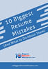10 Biggest Resume Mistakes