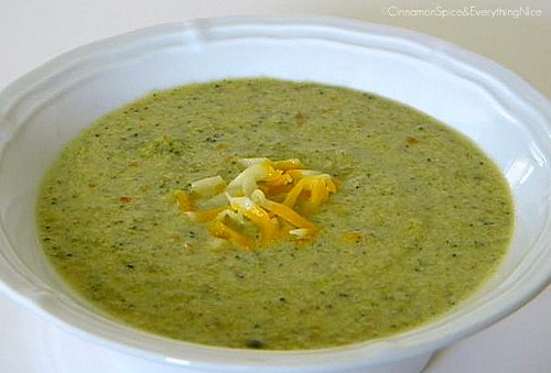 Broccoli Cheddar Cheese Soup