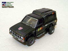 Trailbreaker_19 (Wheel_Jack) Tags: transformers 1984 toyota g1 custom build scratch autobot kitbash hilux wheeljack trailbreaker