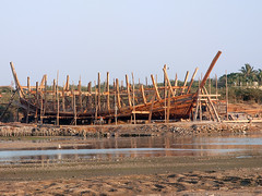 Traditional Ship Building Center, Mandavi, Gujarat