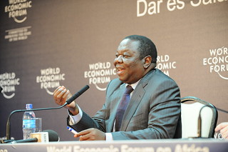 Morgan Tsvangirai - World Economic Forum on Af...