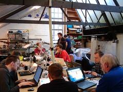 Twain's photo from Saturday at London hackspace