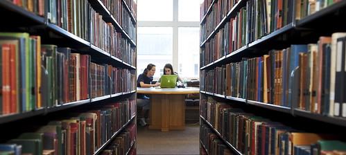 Studying in Berry Library