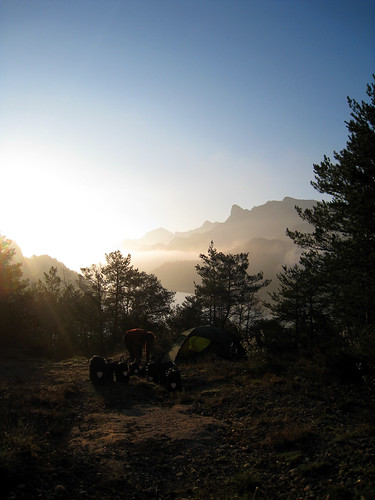 Sunrise at Panta de la Baells