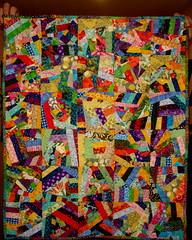 Crazy Quilt! (mle_val) Tags: crazy quilt scrap