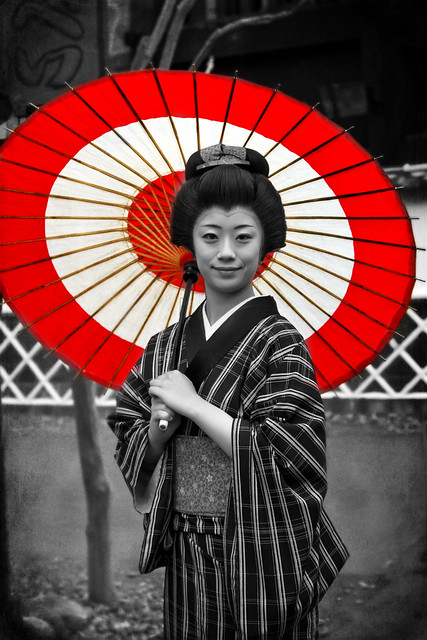 「Edo Wonderland」The Lady on the Street