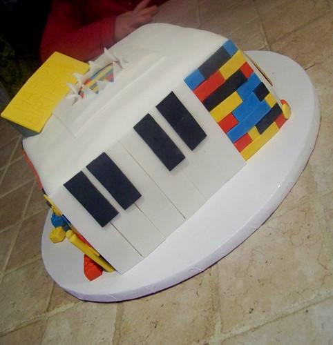Lego/Music Cake